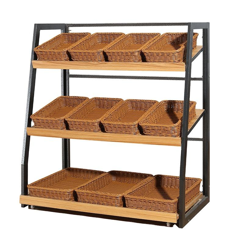 Supermarket retail Vegetable Fruit Display Stand Shelf Vegetable Fruit Display Stand Shelf