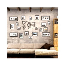 Photo Wire Grid Wall Decor Metal Wall Decorations For Living Room