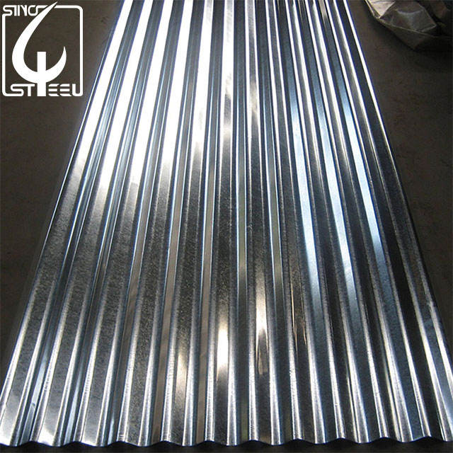 building material 14 gauge corrugated steel roofing sheet