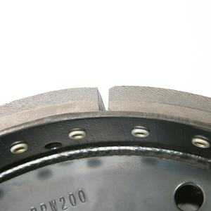 German Truck Parts OEM 15205533 BPW Type New Model 200 Brake Shoe Assembly With Lining