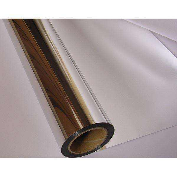 Metallized Paper Sliver Metallized Aluminum Film Laminated On Paper For Cosmetic Packaging Materials