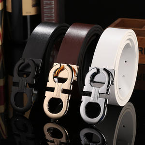 hot selling Men Belt Genuine Leather Strap Belts For Men wholesale colourful Genuine leather belt men
