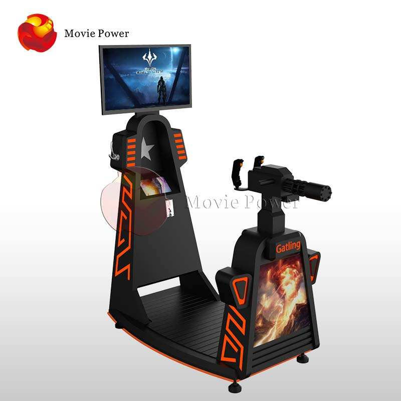 Other Amusement Park Products interactive 9d vr game shooting machine simulator