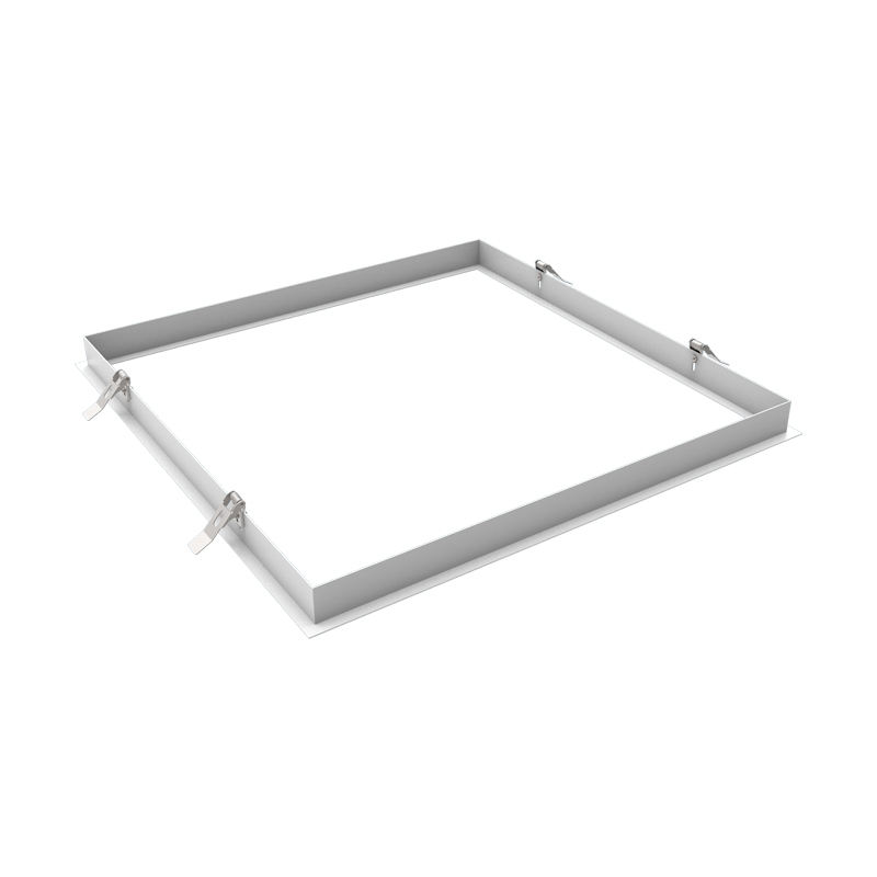 Surface Mount Kit for LED Troffer 2x2 1x4 Flat Panel Drop Ceiling Light