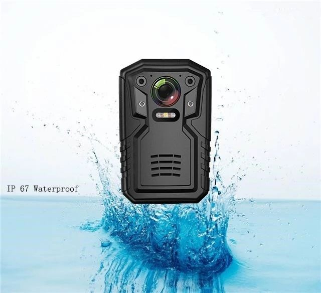 new police video body worn camera for security guard with gps remote control replaceable battery