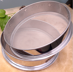 5 20 45 75 100 120 150 200 250 Micron Stainless steel soil sand mesh filter test sieves