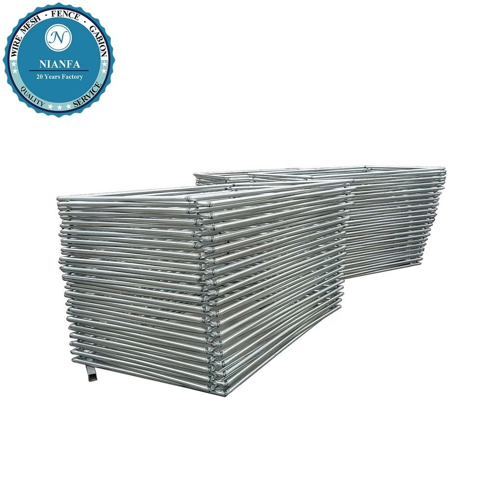 hot dipped galvanized steel fence panel iron fences prefabricated/ american wire fencing/ frame welded gi fence netting