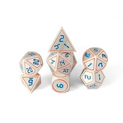 Dnd Dice Set Design Metal Custom New Dice Set -RPG Dungeons Zinc Alloy Meta Polyhedral Dice DND Games Customized Logo 14-20mm YS