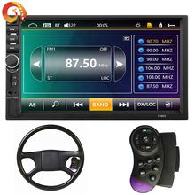 Factory supply 7 Touch Screen Car Stereo BT Navigation Function Car radio Radio FM USB SD Card Video Player