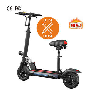 Big Wheels 10 Inch Power 800W E with Seat Foldable Adult Kick Folding Mobility with High Speed Electric Scooter