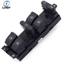 Power Window Lifter Control Switch   1J4959857B For 9 PIN VW BORA GOLF