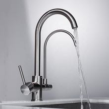 Online sale Filter Tap SIngle Handle Drinking Water Purified Mixer Kitchen Sink Faucet