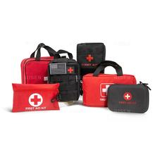 Red And Green Color Portable Outdoor Survival First Aid Disaster Earthquake Emergency Bags Kits