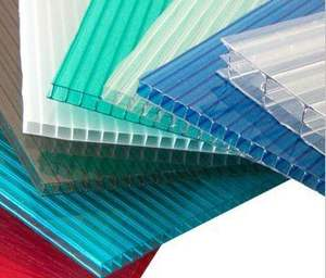 DERFLEX cheap price lexan polycarbonate hollow roofing sheet