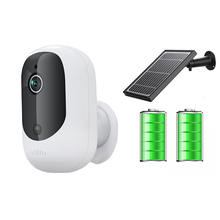 Low consumption 1080P solar wifi PIR battery ip camera
