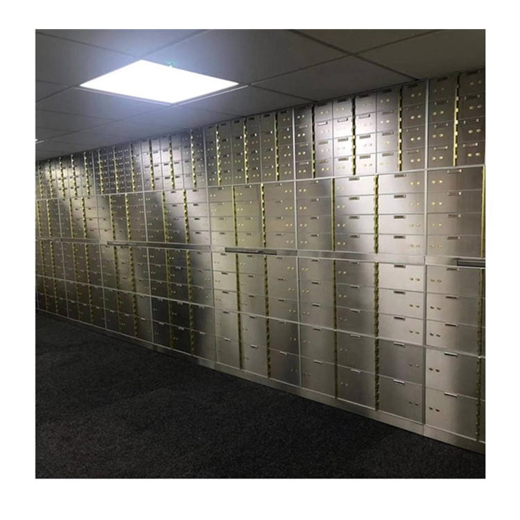 High quality JSH customized Security vault room Safety Vault Locker bank safe deposit box
