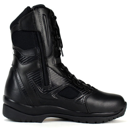 handmade low price traction function black breathable military combat boots
