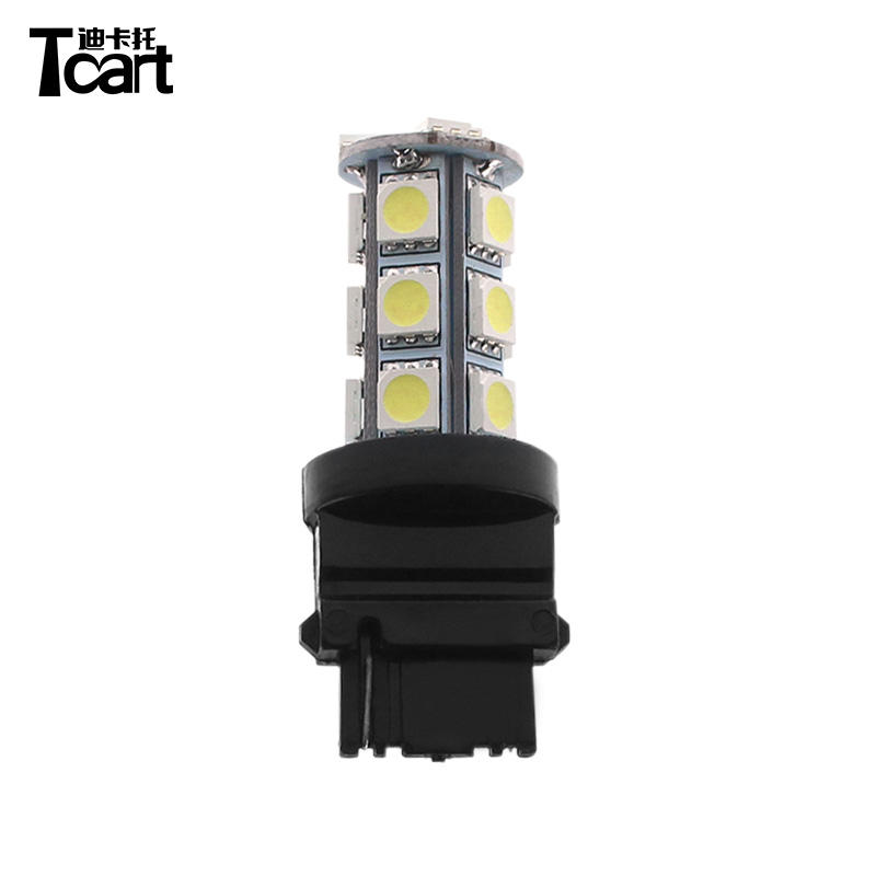 W21W 7440 W3X16D Xenon LED 54-SMD 1210 Revers Car Light Bulbs A