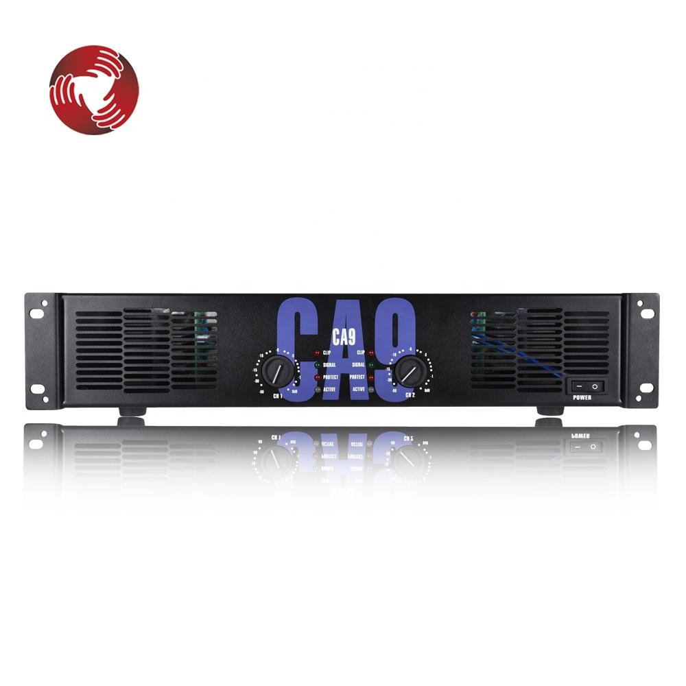 Professional ca9 900W audio power amplifier