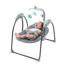 Custom Design Luxury Baby Swing Bouncer, Cobabies Baby Rocker With Toys/