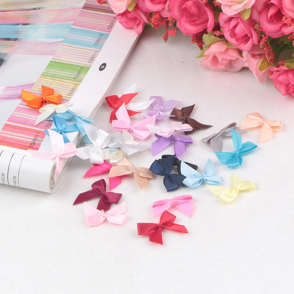 Wholesale Small Mini Ribbon bow For Underwear Decoration