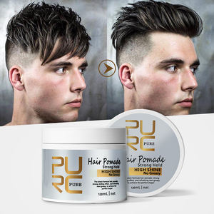 Hair Styling Gel Edge Control Free Sample Hair Gum Wax Private Label Brazilian Pomade For Women Men