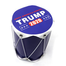 2020 Trump US Presidential Election Cheer Paper ToyTambourine