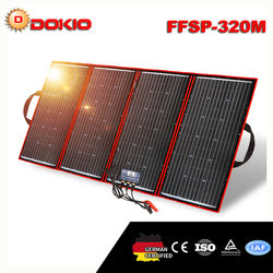 320W 18V Flexible Foldable Solar Panel For Camping Boat RV Travel Home Car
