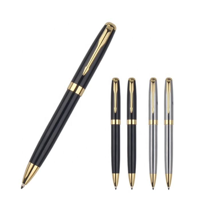 Custom LOGO Ballpoint Pen Luxury Parker Metal Pen