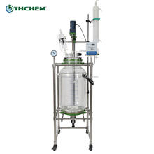 2016 newest high quality glass reflux reactor for chemical lab