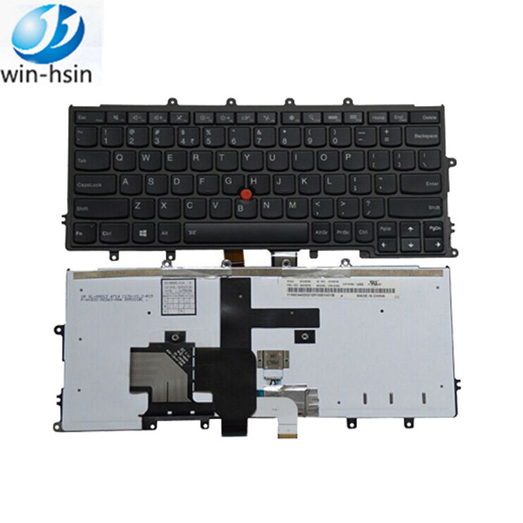 New US Black Keyboard Fit IBM Lenovo Thinkpad SG-59500-XUA 04Y2652 04Y2456 Non-Backlit with Frame