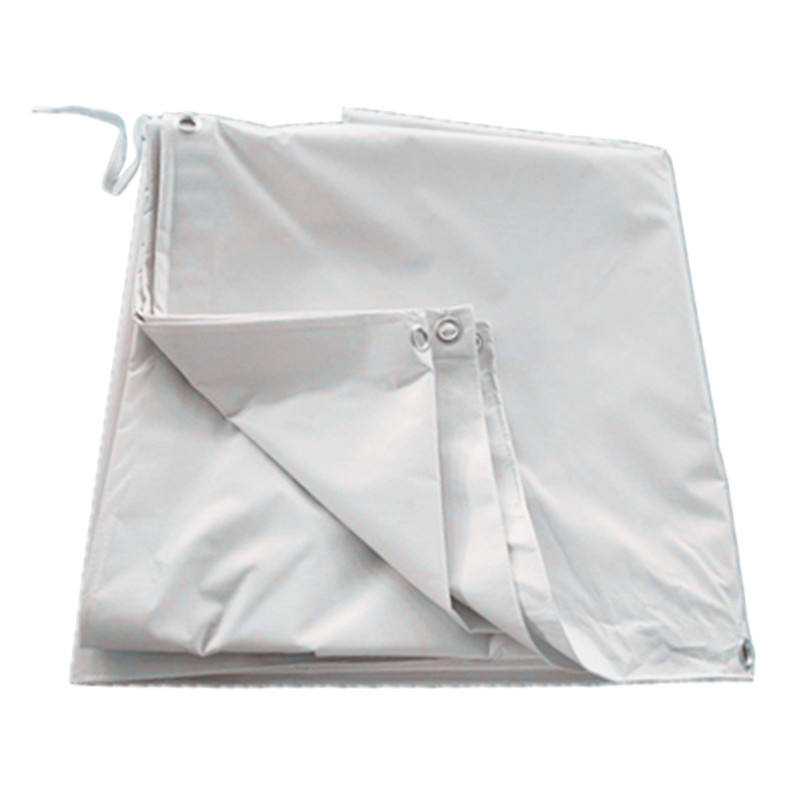 Outdoor Tarpaulin Waterproof Heavy Duty Canvas - white Tarp Sheet - Premium Quality Cover Tarp Oilcloth