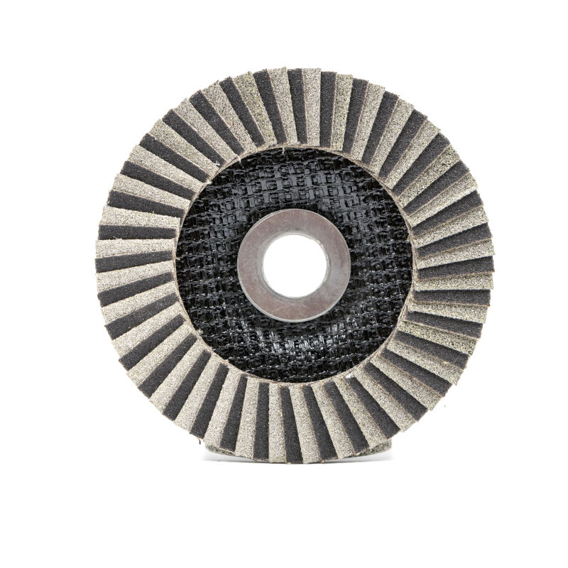 115 mm Diamond flap discs abrasive metal with fiberglass backing