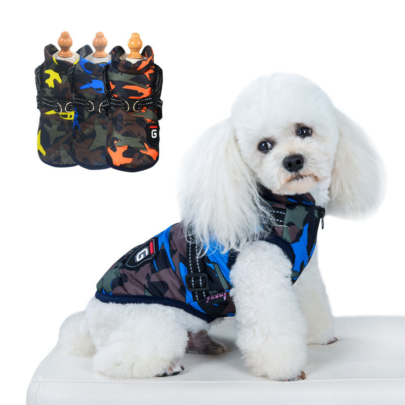 Wholesale Low Price Luxury Small Pet Dog Winter Jacket