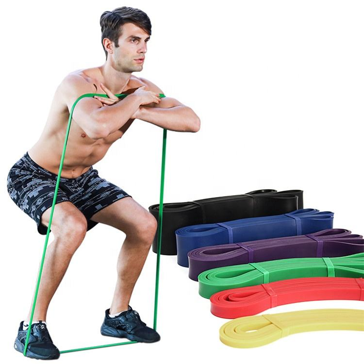 Hot Sale Eco-friendly Latex Pull Up Assist Band Fitness Resistance Bands