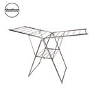 home hanger foldable cloth dryer stand and laundry clothes drying rack stainless steel