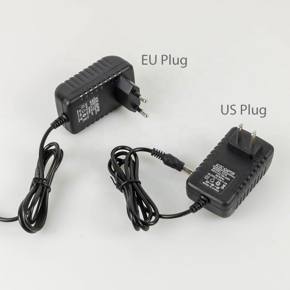 Power Adapter AC DC Switch 1A 2A 5A US EU Plug Charger For Light Transformer