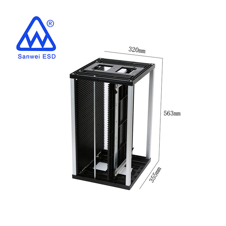 3W-9805301B4 PCB storage esd racks for electronic industrial (Size:355*320*563 Temperature:100-150)