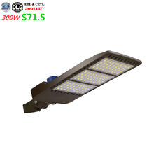 5 Years Warranty Aluminum High Quality waterproof led flag pole light IP65 300w Shoe Box LED Street Light Outdoor