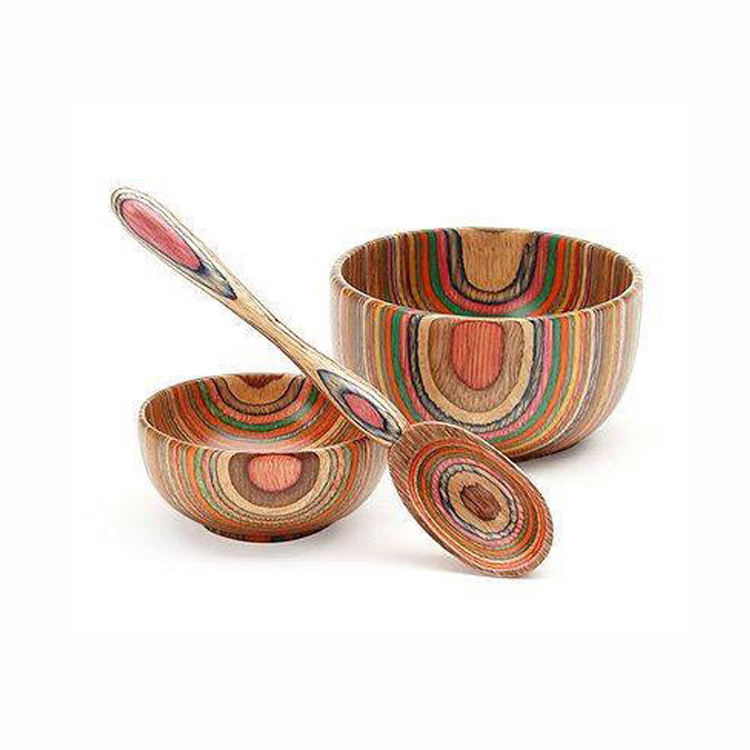 Best Selling For High Quality Anti Broken Custom Vietnamese Kitchen Wooden Mask Bowl