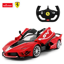 RASTAR 1:14 scale electric vehicle Ferrari remote control toy rc car for kids