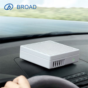 Portable Car Air Cleaner Effective Remover Vehicle Power Supply with HEPA Filter