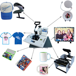 Multifunctional 3d Digital Sublimation 8 in 1 Combo Heat Press Machine