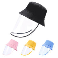 New Arrival Full Face Adult Kids Anti spitting Gorras Protective Bucket Hat With Removable Cover