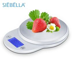 Backlight function fast delivery Removable bowl digital commercial food kitchen scale