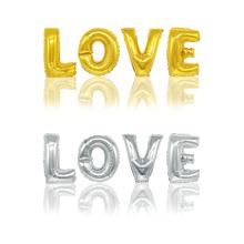 XQYY 16 Inch Foil Letter Aluminium Balloons I LOVE YOU Set  Wedding Decorations Valentine's Day