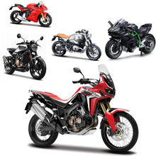 Diecast Model Car Alloy 1/18 motorbike Toy 75 design die cast Motorcycle toy exquisite gift modle car