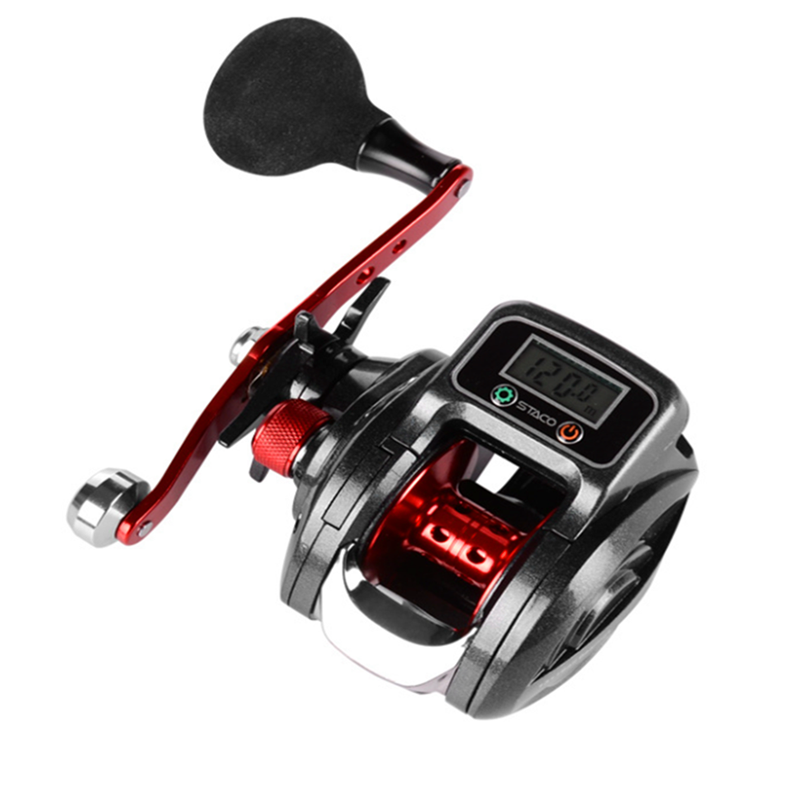 Sea Fishing Reels [ Casting Reel ] Fishing Reel Casting 6.3:1 Gear Ratio Digital Display 16 1BB Bait Casting Fishing Reel
