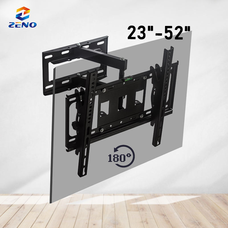 Swivel Video Wall Mount 40 Tot 70 Inch Tot 100 Lbs Max Vesa 400*400 Tv Ondersteuning