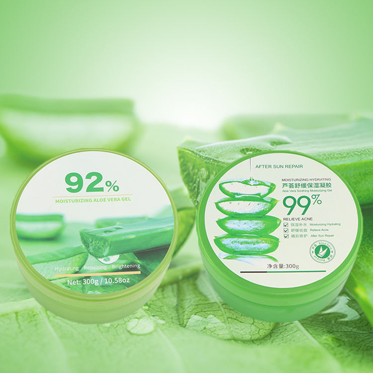 300ml Pure Organic Hydrating Nourishing Skin Care Forever Aloe Vera Soothing Gel for Face